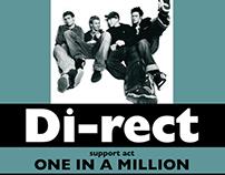 Poster Dutch Rock Band Di-rect