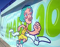 Amada 101 - Mural