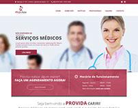 Layout PSD & HTML/CSS   Provida Cariri