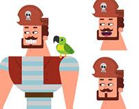 Piratas - Character Design