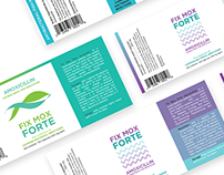 Fix Mox Forte : Pet Medicine Label & Packaging Design