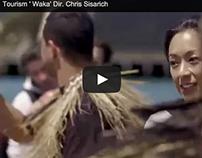 Tourism New Zealand 'Waka' Dir. Chris Sisarich