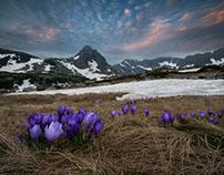 Spring in 7 Rila lakes