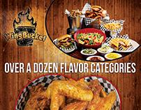 Dallas WIngbucket Richardson WIngbucket A4 Poster/Flyer