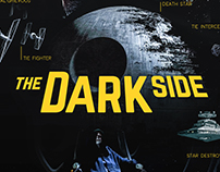 the DARK SIDE / Infographic Poster
