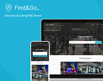 FindGo - Directory & Listing Website