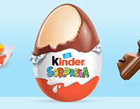 Kinder Ferrero - Social Media.