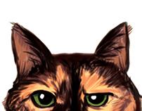 THE UNIMPRESSED CAT