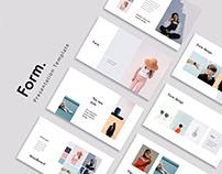 FORM - Stylish & Minimal Template