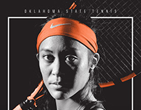 2016 Oklahoma State Women's Tennis Posters
