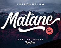 Matane - Typeface (Free Download)