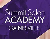 Summit Salon Academy Gainesville Branding and Website