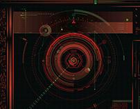 RETRO FUTURISTIC UI DESIGN