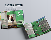 NxtGen Distro | Trifold Brochure Design