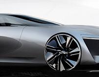 INFINITI EV Coupe Sketch