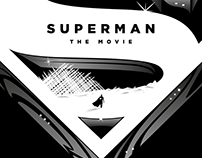 SUPERMAN: THE MOVIE Poster Art