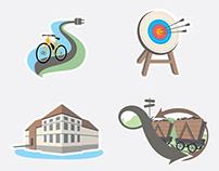 Infografik, Karte und Zahlenwerke für Seitenplan GmbH