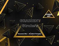 Vector Triangle Poster Design