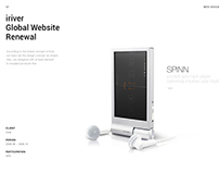 iriver Website Renewal