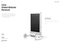 iriver Website Renewal