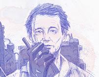'Ghostbusters - Bill Murray' illustration