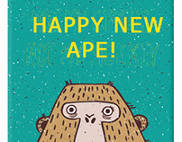 New 2016 Monkey Year Corporative Phone Cases