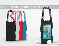 Courier Clip for iPod Nano
