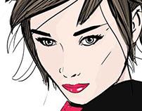 Audrey Hepburn - Digital Painting
