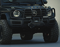 Brush Guard Design 2019 Mercedes-Benz G-Class