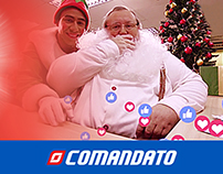 Papa Noel en FBK COMANDATO