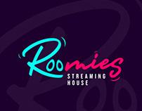 Roomies Streaming House | Branding