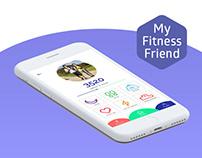 My Fitness Friend - app for fitness bracelet