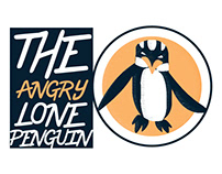 The Angry Lone Penguin (Logo)