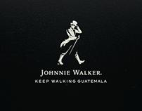 Johnnie Walker: keep walking Guatemala