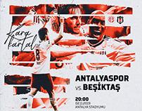 Antalyaspor X Besiktas JK