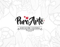 Puro Arte · Asociación cultural  - Imagen Corporativa