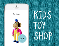 Internet-shop of children's toys. Handmade goods.