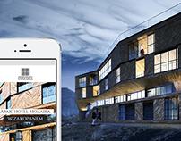 Aparthotel Mozaika / web design