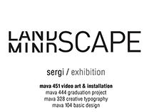 landscape/mindscape exhibition identity