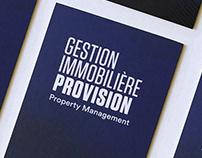 Gestion Immobilière Provision Identity