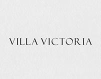 VILLA VICTORIA, BRAND IDENTITY
