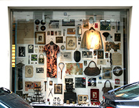 allestimento vetrina disel store St.Germain Parigi 2008