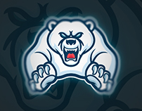 Polar Bear Mascot Logo | Sold