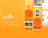 Yadda Music App - Concept