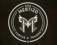 Don Mestizo • Restaurant  Concept & Branding