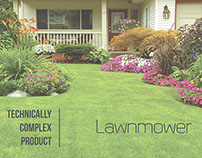 Technically Complex Product - Lawnmower