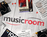 Musicroom - Infographic and Social Media Image