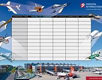 Flughafen Stundenplan