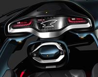 Ferrari Cockpit Tripod Interior