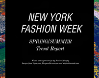 NYFW Trend Report